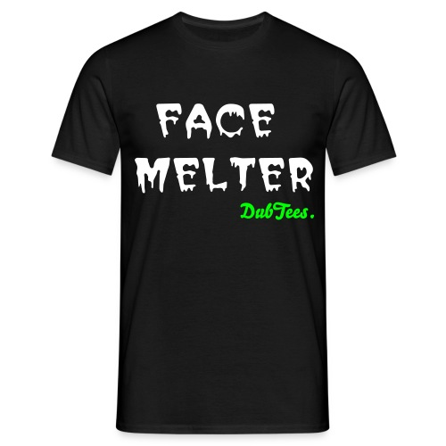 Face Melter Tee by DubTees. - Men's T-Shirt
