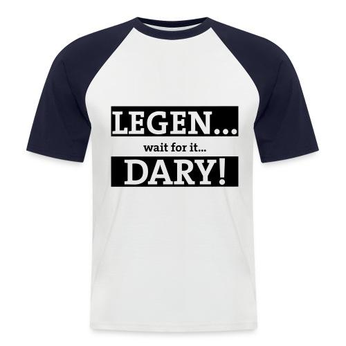 Legen...dary Tee-shirt - T-shirt baseball manches courtes Homme