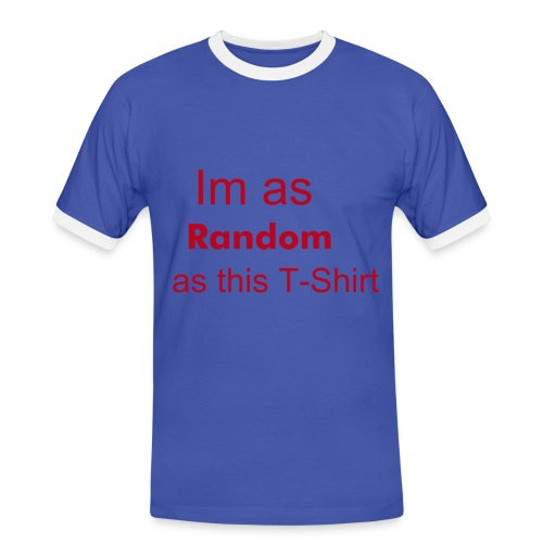 Random - Men's Ringer Shirt