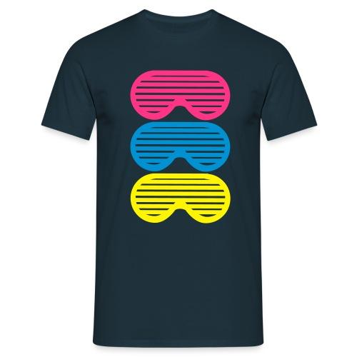 eyeglasses - T-skjorte for menn