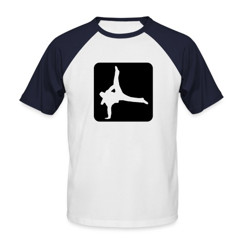 T-shirt raglan manche courte Hip-Hop - T-shirt baseball manches courtes Homme