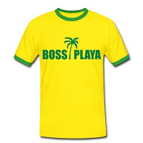 Tshirt Boss Playa - T-shirt contrasté Homme
