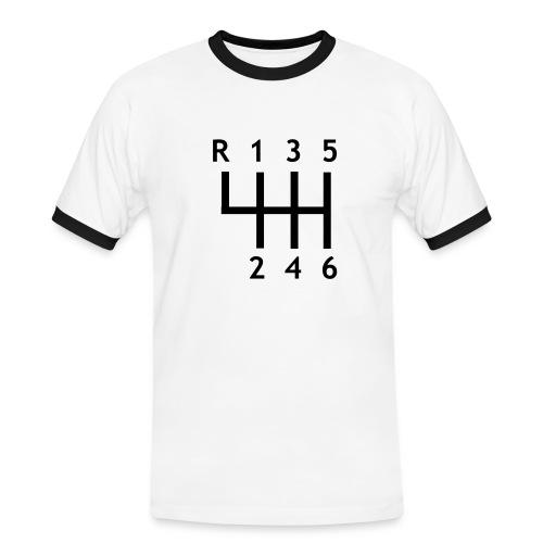 Vitesse - T-shirt contrasté Homme