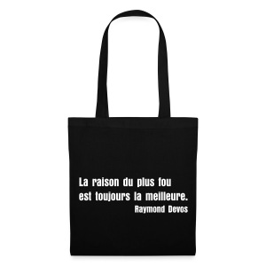 Sac de toile citation R. Devos - Tote Bag