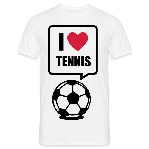 Shirt : Ball liebt Tennis - Männer T-Shirt