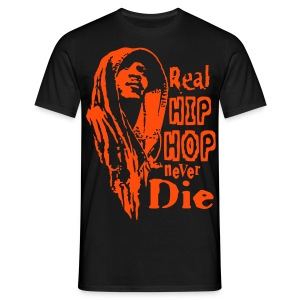 Real Hip Hop ...  orange - T-shirt Homme