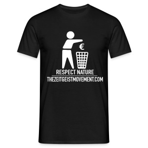 Respect nature - Maglietta da uomo