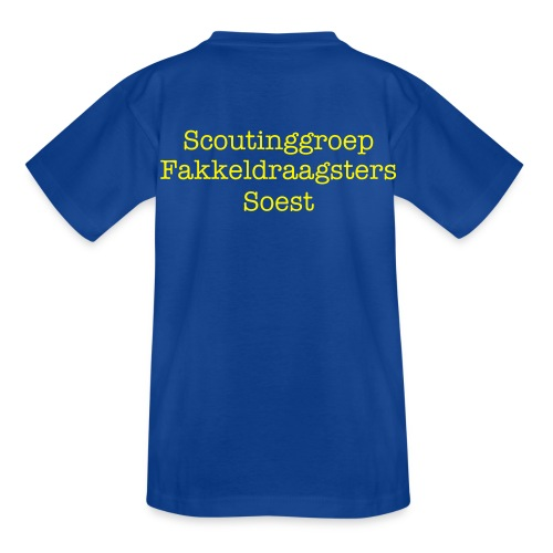 Kinder t-shirt Fakkeldraagsters - Teenager T-shirt
