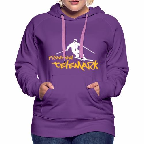 Freeheel Telemark - Frauen Premium Hoodie