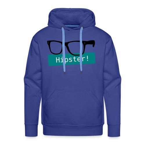 Hipster?! - Männer Premium Hoodie