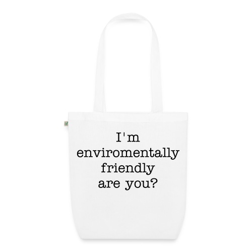 tote bag with slogan - EarthPositive Tote Bag
