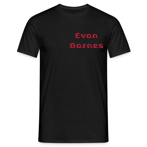 Men's T-Shirt - Evan Barnes  T Shirt