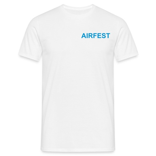 White T-Shirt - Men's T-Shirt