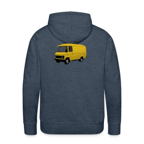 MB508 kort hoog in geel - Mannen Premium hoodie