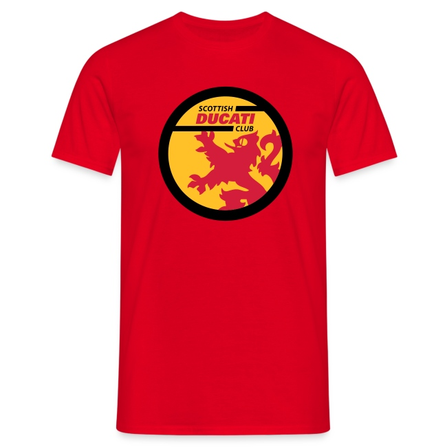 Full colour logo t-shirt