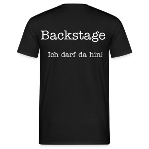 Backstage - Men - Männer T-Shirt