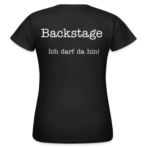 Backstage - Girls - Frauen T-Shirt
