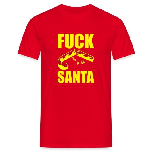 Fuck Santa - Camiseta hombre
