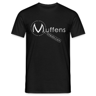 T-Shirts ~ Men's T-Shirt ~ Muffens Media T-Shirt: Black