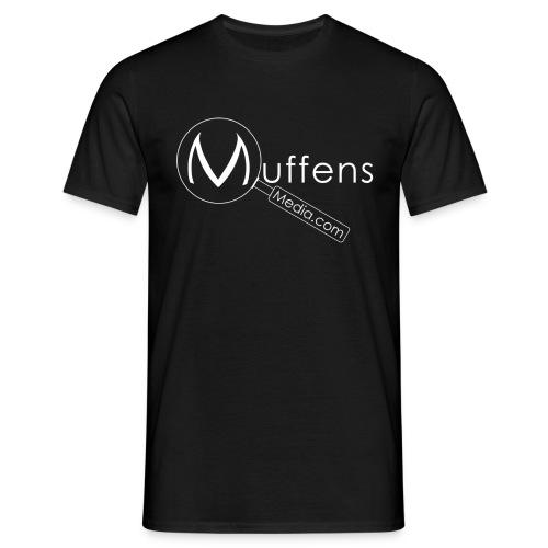 Muffens Media T-Shirt: Black - Men's T-Shirt