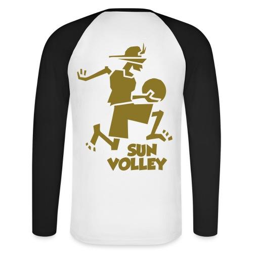 Tshirt manches longues SunVolley - T-shirt baseball manches longues Homme