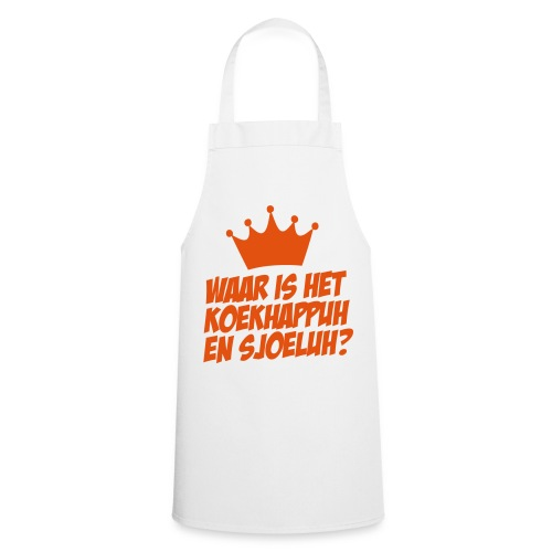 Cooking for the Queen! - Keukenschort