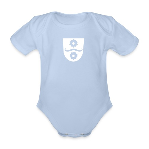 Baby Body Hemsbach Wappen - Baby Bio-Kurzarm-Body