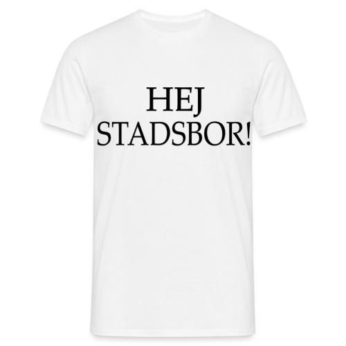 Hej stadsbor! - T-shirt herr