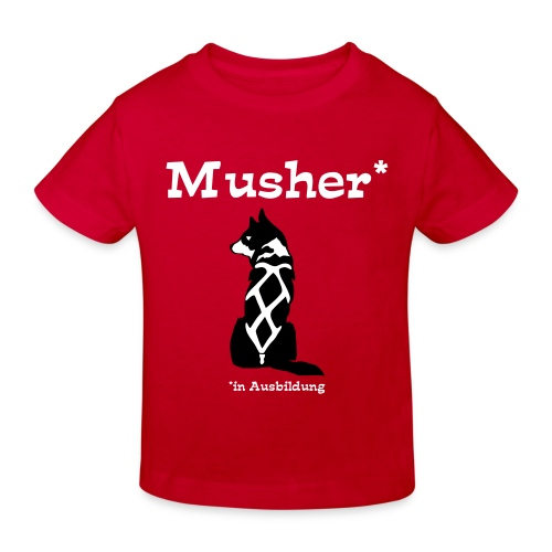 Kinder T-Shirt Musher in Ausbildung Organic Cotton - Kinder Bio-T-Shirt