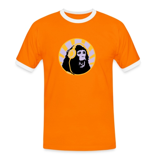 mono stereo - Camiseta contraste hombre
