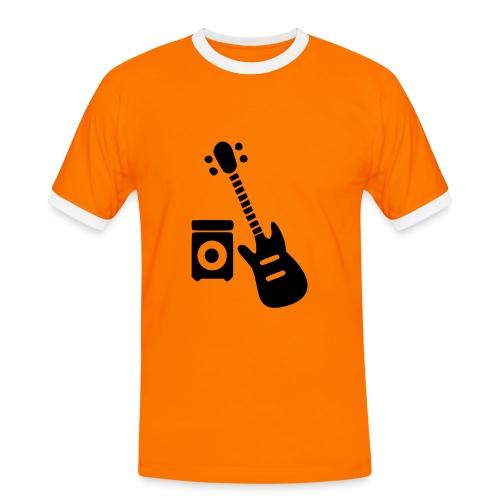 Electric guitar - Camiseta contraste hombre