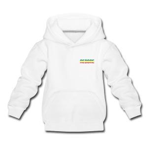 weisser Reggae Kinder-Kapuzenpullover - Kinder Premium Hoodie