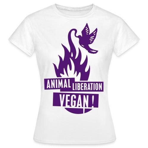 Animal Liberation - Frauen T-Shirt