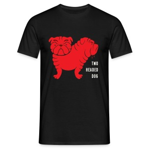Two Headed Dog - T-shirt herr