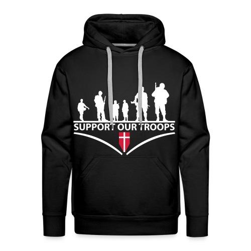 Support the Troops - Herre Premium hættetrøje