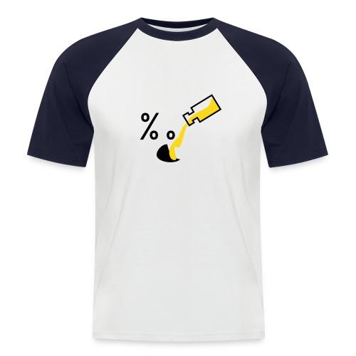 Alkoholu niet v3 - Koszulka bejsbolowa męska