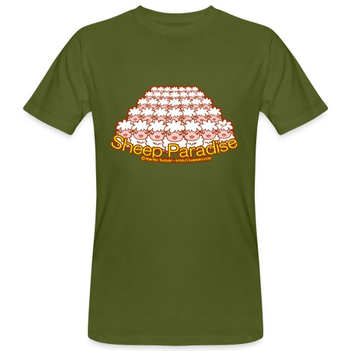 Sheep Paradise - Men's Organic T-Shirt