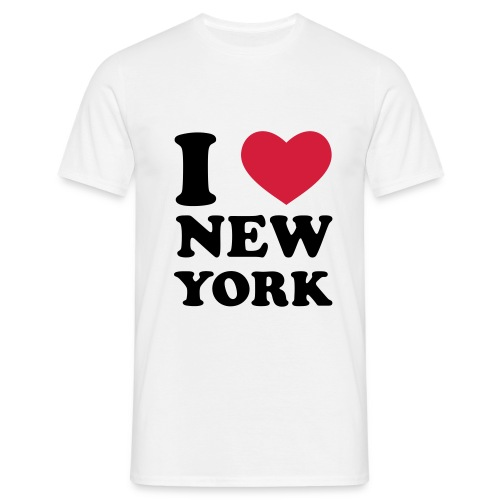 I love New York Shirt - Männer T-Shirt