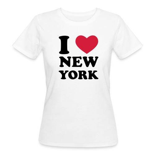 I love New York Shirt organic Cotton - Frauen Bio-T-Shirt