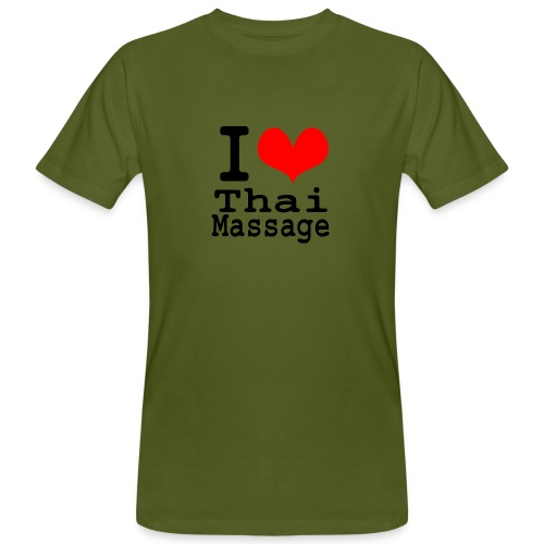 I love Thai massage - Men's Organic T-Shirt