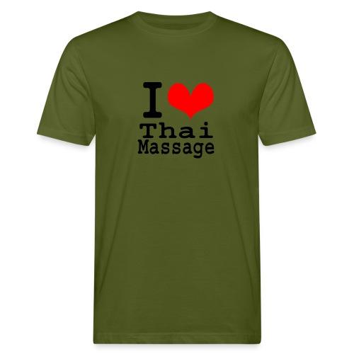 I love Thai massage - Men's Organic T-Shirt