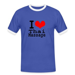 I love Thai massage - Men's Ringer Shirt