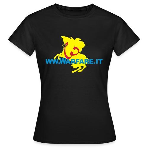 Logo del sito www.warfare.it - Maglietta da donna