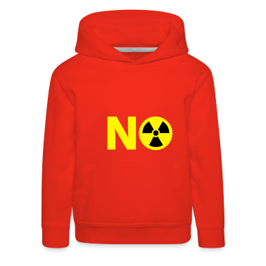 Nuclear Power No Thanks Kids' Tops