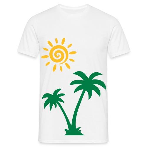 Sunny Sommer - Männer T-Shirt
