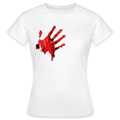 BLOODY HANDS / Camiseta mujer - Camiseta mujer
