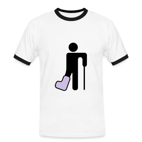 Christian Buffon - Herre kontrast-T-shirt