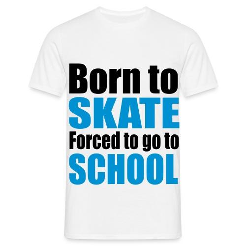 Juust-Style Skate1 - Männer T-Shirt
