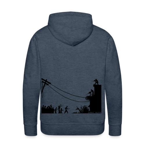 ZOMBIE ATTACK / Sudadera con capucha - Sudadera con capucha premium para hombre