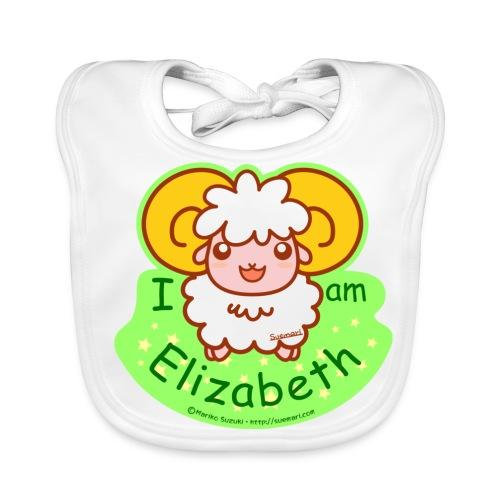 I am Elizabeth - Baby Organic Bib